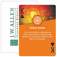 Safety Themed Playing Cards