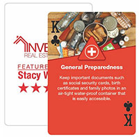 Weather Preparedness Playing Cards