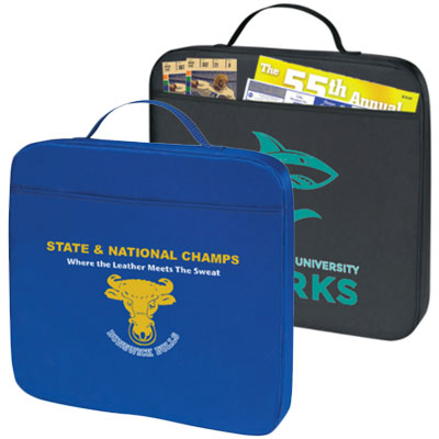 "14"" Polyester Stadium Cushions (1.5"" Thick)"