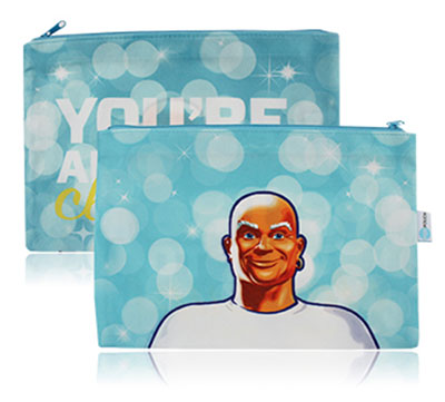 Full Color Sublimated Flat Pouches - Large