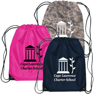 Budget Poly Drawstring Bags - 1 Day Rush