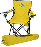 Folding Chairs with Carrying Bags - 1 Day Rush