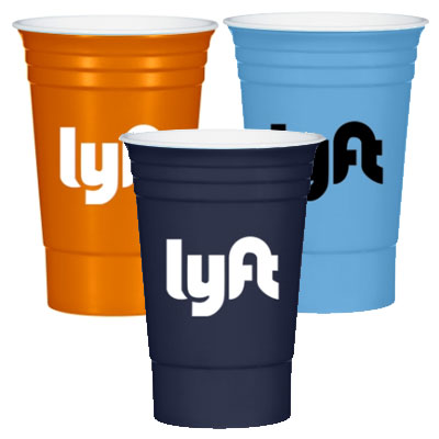 16 oz. Double Wall Tri-Edge Poly Cups - USA Made - 1 Day Rush