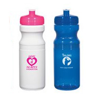 24 oz. Eco-Polyclear Bike Bottles - 1 Day Rush