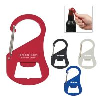 Engraved Carabiner Bottle Openers