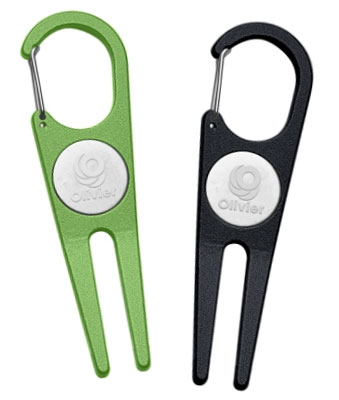 Aluminum Divot Tools with Ball Markers