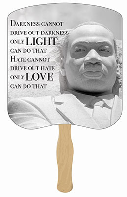 Martin Luther King, Jr. Memorial Hand Fans