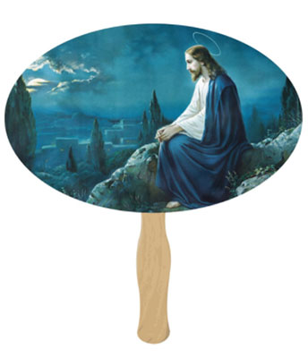 Mount of Olives Hand Fans