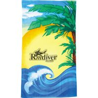 "Beach Scene Beach Towels, 60"" x 35"""