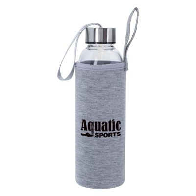 18 Oz. Aqua Pure Glass Bottles