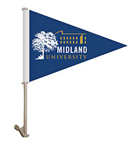 11.5 x 15 Pennant Style Car Flags