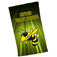 "13"" x 17"" Dye Sublimated Rally Towels"