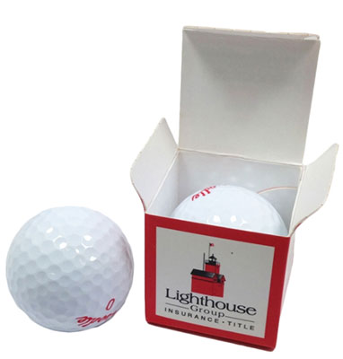 Single Golf Ball Packaging
