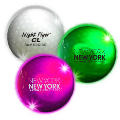Night Flyer Light-Up Golf Balls