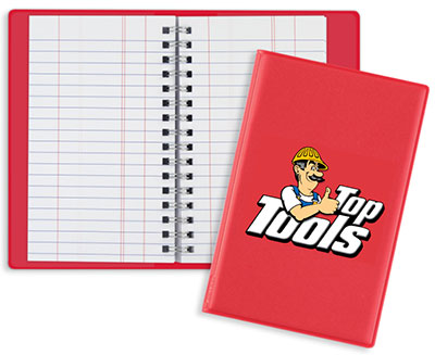 Full Color Wire-o Tally Books - Junior
