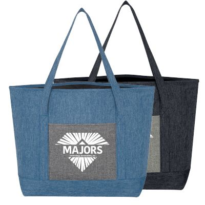 13 x 13 Denim-look Tote Bags