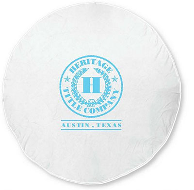 100% Cotton Round Beach Towels - 60""