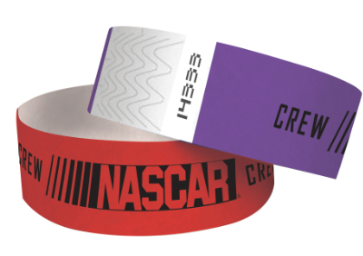 "1"" Tyvek Wristbands - Colored"