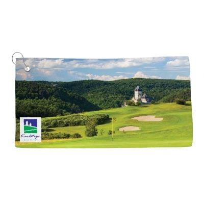"12"" x 24""  Dye Sublimated Golf Towels"