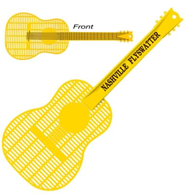 Large Guitar Fly Swatters