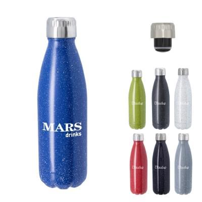 70ce2bcdb8 16 oz. Matte Black Swig Stainless Bottles | PrintGlobe