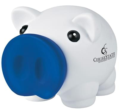 Mini Piggy Banks with Removable Nose