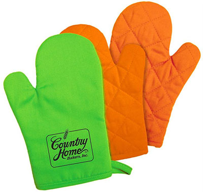 Bright Color Oven Mitts