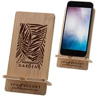 Bamboo Phone Stands
