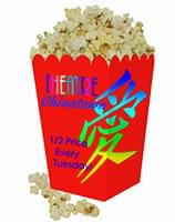 4 x 6 Small Scoop Popcorn Boxes - Low Minimum Full Color