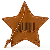 Leather Star Ornaments