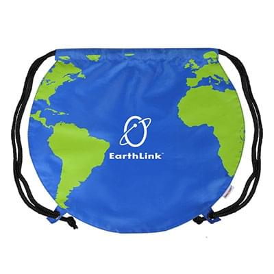Globe Drawstring Backpacks