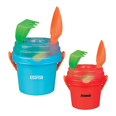 Mini Sand Pails with Toys