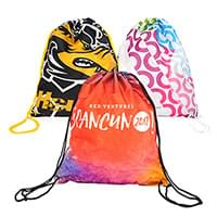 Full Color Drawstring Backpacks – Full Bleed
