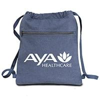 Canvas Drawstring Backpacks