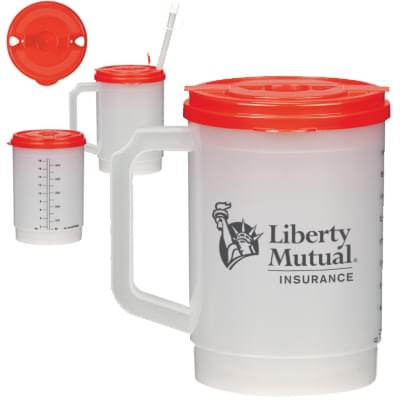 20 oz. Medical Tumblers with Measurement Scale