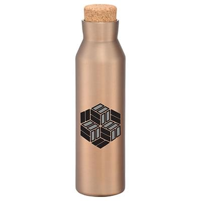 20 oz. Norse Copper Insulated Bottles - Cork Lid