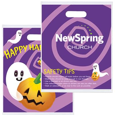 12 x 15 Purple Daze Halloween Treat Bags