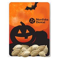 Halloween Themed Pumpkin Seed Packets - Jack-O-Lantern