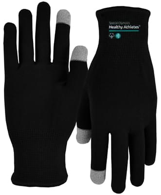 Sports Performance Runners Text Gloves