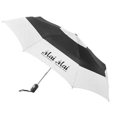 "Totes Auto Open/Close Color Block Umbrellas - 43"" Arc"