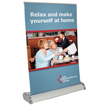 Mini Retractable Banners - Large