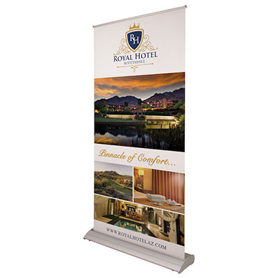 Deluxe Retractable Banners - Large