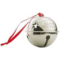 Engraved Jingle Bell Ornaments