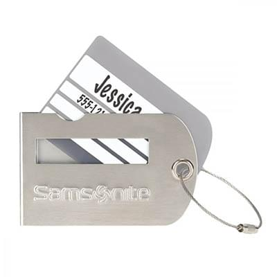 Samsonite Metal Luggage Tags
