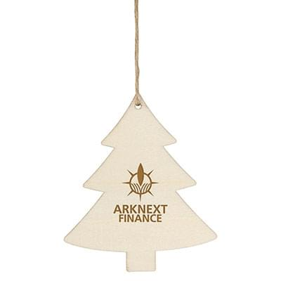Economy Wooden Ornaments - Tree Shape