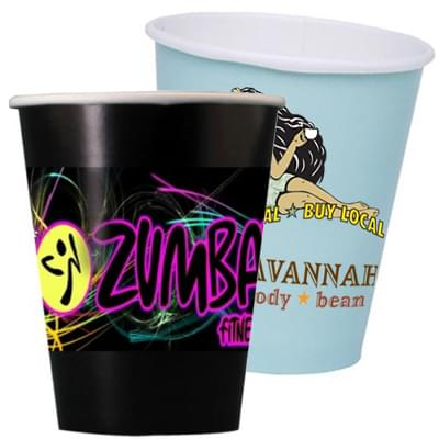 9 oz. Colored Paper Cups - Full Color