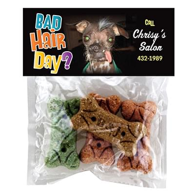 Dog Treats - Full Color Header Bags