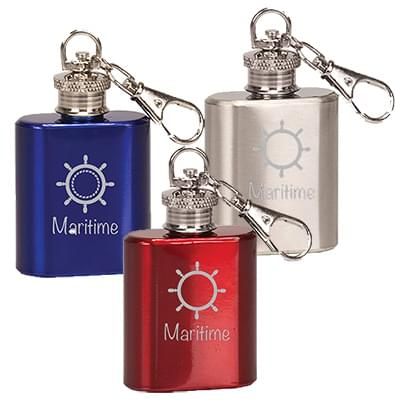 1 oz. Keychain Flasks