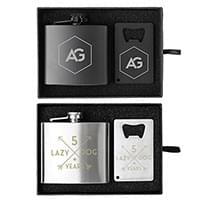 5 oz. Crafter Flask and Bottle Opener Gift Sets