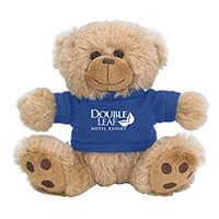 "6"" Plush Big Paw Brown Bears"